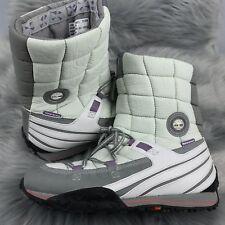 TIMBERLAND Women's Size 10 M  White Purple Insulated Rain Snow Proof Boots Shoes