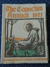 The Capuchin Annual ~ 1971, the 38th year ~ Religion, Art, History
