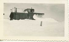 7E953 (3) RP 1941 CN CANADIAN NATIONAL RAILROAD LOCO 1123 SNOW PLOW 55610 STUCK