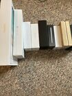 Lot Of 9 EMPTY BOXES- NO PHONES NO IPADS. READ LISTING -SOLD AS IS SEE PICS