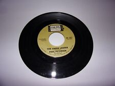 Paul Petersen: The Cheer Leader / Polka Dots And Moonbeams / 45 Rpm / Colpix 707