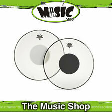"""New Remo 12"""" Clear Controlled Sound Drum Skin with Black Dot -  CS-0312-10"""
