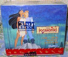 DISNEY  POCAHANTAS  TRADING CARDS   SEALED BOX  36CT