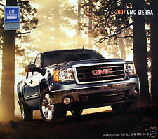 2007 GMC Sierra Pickup Truck new vehicle brochure