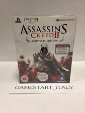 ASSASSIN'S CREED II 2 COMPLETE EDITION (PS3) NUOVO NEW GIOCO ITA