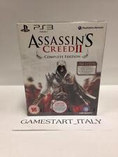 ASSASSIN'S CREED II 2 COMPLETE EDITION (PS3) NUOVO NEW GIOCO ITA