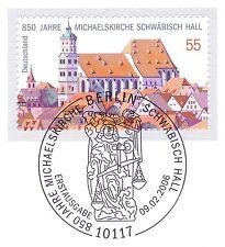 BRD 2006: Michaelskirche Schwäbisch Hall Nr. 2522 mit Berliner Stempel! 1A! 1607