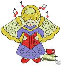 Cute Baby Angels Machine Embroidery Designs 4x4 CD