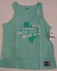 Formula 1 COTA 2015 Women's Texas Graphic Tank NWT XL REG $30 2227