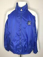 San Jose Earthquakes Soccer MLS Men's Jacket Embroidered Logo Full Zip Sz XL