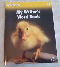 Zaner Bloser, My Writer's Word Book, K Kindergarten, Brand New,
