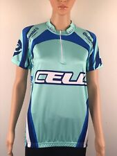 Cell Bikes Womens  Cycling Jersey Short Sleeve  Bicycle Shirts Size Small