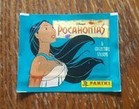Panini 1 Tüte Disney´s Pocahontas Bustina Pochette Packet Pack Sobres Disney