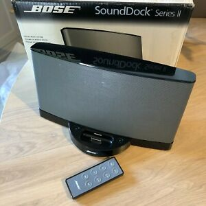 Bose Sound Dock Series II/2. Bluetooth enabled. With power supply & remote.