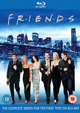FRIENDS - COMPLETE BLU RAY BOXSET - BLU-RAY - REGION B UK
