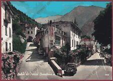 BERGAMO PIAZZA BREMBANA 05 MANIFESTO CINEMA Cartolina FOTOGRAFICA viaggiata 1959