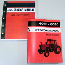 ALLIS CHALMERS 6060 6080 TRACTOR SERVICE OPERATOR MANUALS TECHNICAL SHOP REPAIR