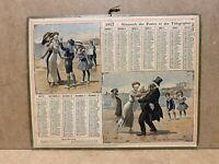 Calendrier Almanach des Postes télégraphes 1912 - colin-maillard , Loir et cher