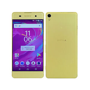 Sony Xperia XA Google Android Mobile Cell Phone F3111 16GB Lime Gold Unlocked