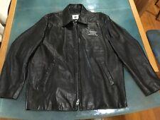 Universal Studios Florida Genuine Lambskin Leather Jacket Men XL - Made In USA