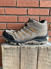 Men's Merrell Size 11.5 Mid Suede Leather Hiking Boot Outdoor, Waterproof
