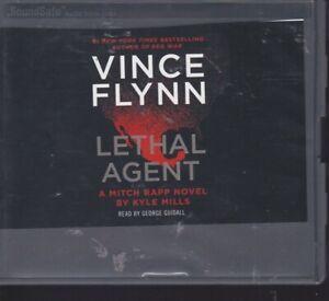 LETHAL AGENT (VINCE FLYNN) by KYLE MILLS ~UNABRIDGED CD AUDIOBOOK