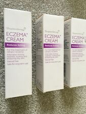 3x Superdrug ECZEMA  Cream 50ml red Itching scaly dry skin STEROID FREE