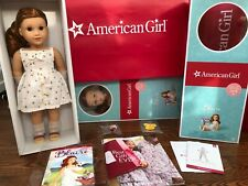 """Authentic American Girl Blaire Wilson 18"""" Doll of Year 2019 Complete + Bonus"""