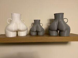 Butt Vase Booty Vase Love Handle Vase Home Decor Body Vase MEDIUM SIZE