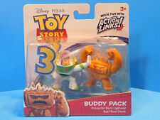 Toy Story 3 Buddy Pack Protector Buzz Lightyear and Bad Mood Chunk New!