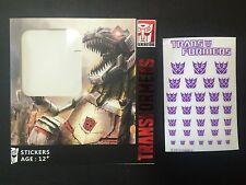 Ocean Transformers Carton style Decepticon Decals,In stock