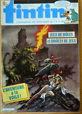 BD Comics Magazine Hebdo Journal Tintin No 27 42e 1987 L'aventure à la voile !