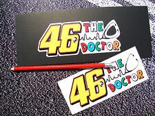 46 Pegatinas de Valentino Rossi 46 el Doctor Moto GP Yamaha Motos 46 campeón
