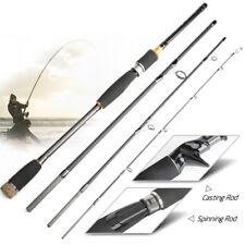 2.1M 3.0M Fishing Rod Casting Lure Carbon Spinning Rod Portable Fishing Pole