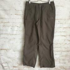 The North Face Women's Size 2 Gray Brown Hiking Light Weight Quick Dry Pants