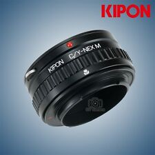 Kipon Adapter with Focus Helicoid for Contax/Yashica Mount Lens to Sony NEX