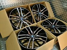 "BMW X5 F15 742M Style 22"" Alloy Wheels X6 F16 E70 E71 M Sport M50d Staggered !!"