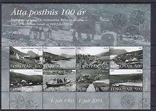 Postfrische Briefmarken aus Dänemark mit Post- & Kommunikations-Motiv