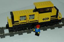 9v LEGO Ferrovia Train 4564 Lok GIALLO güterlok incl. MOTORE Cargo Engine