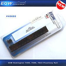 EGW Remington 7400, 7600, 7615 Picatinny Rail #40600 - NEW - Weaver Alternative
