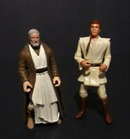 Hasbro 90's Star Wars POTF II and Episode 1 Ben (Obi-Wan) Kenobi Loose set of 2