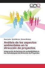 Análisis de los aspectos ambientales en la dirección de proyectos: Integración d
