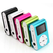 MP3 Player With Digital LCD Screen Mini Clip Support 32GB Micro SD TF Card Radio