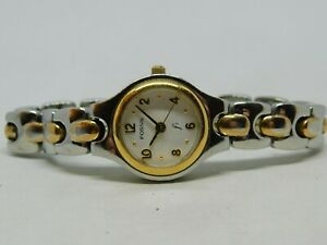 Fossil F2 ES-8826 All Stainless Steel Quartz Analog Ladies Watch Sz. 6 1/4""