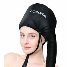 Bonnet Hood Hair Dryer Attachment - Curling Rods Tools Stretchable Grip and Exte