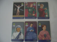 WOMEN Complete Set of 6 Different Phone Cards from Brazil