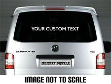 LARGE CUSTOM TEXT PERSONALISED VINYL DECAL CAR STICKER PROMOTIONAL business dub