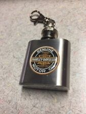 HARLEY DAVIDSON 1 OZ. FLASK KEY CHAIN FREE SHIPPING UNIQUE AND VERY CLASSY