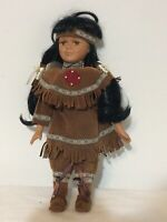 """Native American Indian Doll 16"""""""