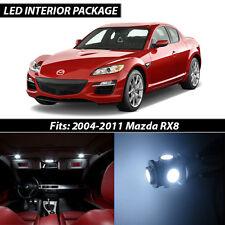 2004-2011 Mazda RX-8 White Interior LED Lights Package Kit